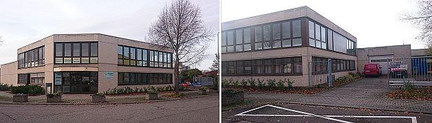 Optotherm Büro- Werkstattgebäude