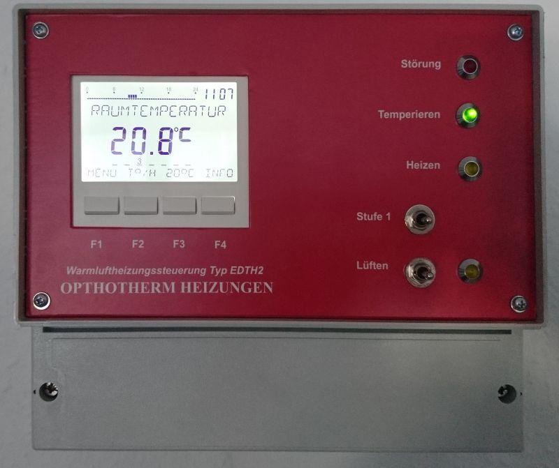 Elektronische Doppelthermostatregelung EDTH2